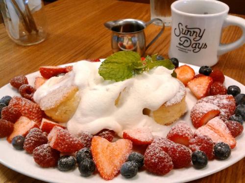 サニーデイズ モンサラットのパンケーキ