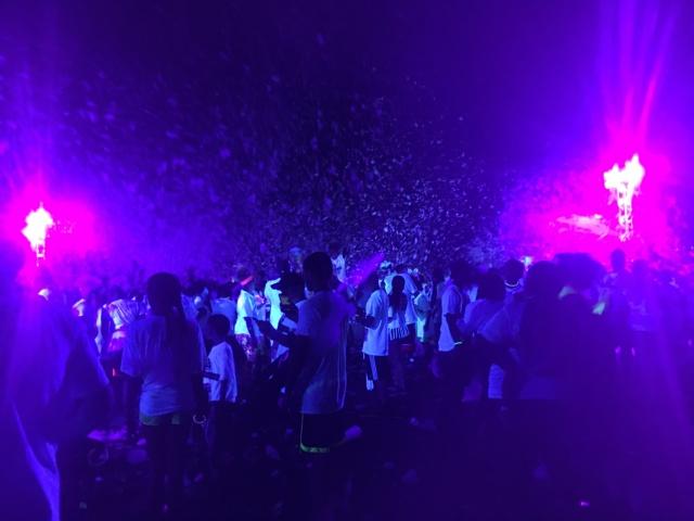 foam glow run